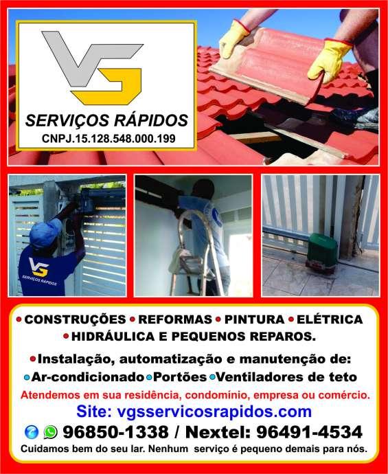 Construções, reformas e reparos residenciais na região oceânica de niterói - gvs serviços