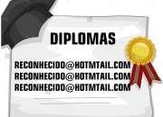 Comprar diplomas técnicos é superiores  com total garantia