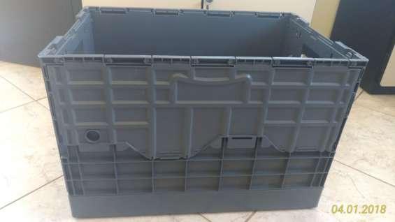 Caixa plástica dobrável 39x40x60