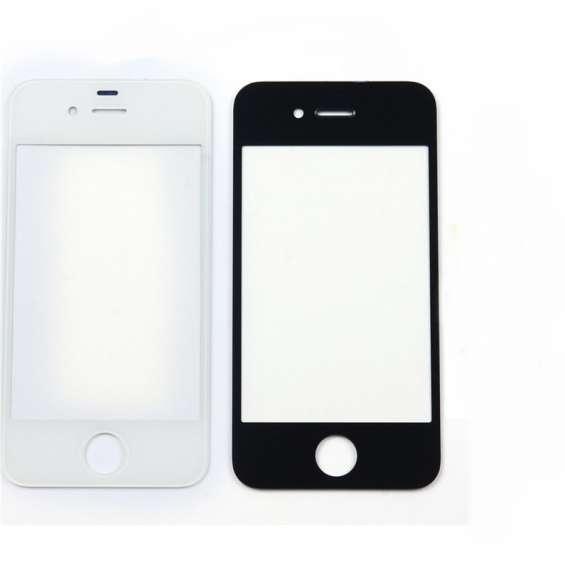 Tela vidro s/ touch iphone 4 - 4s - preta ou branca