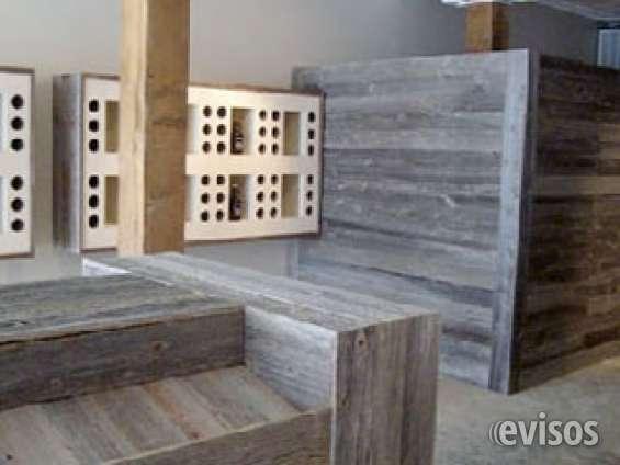 Fotos de Painel em madeira de demolição 3