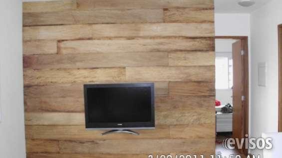 Fotos de Painel em madeira de demolição 11