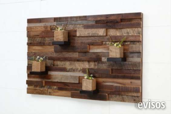 Fotos de Painel em madeira de demolição 5