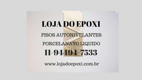 Pisos resinados epoxi brasil