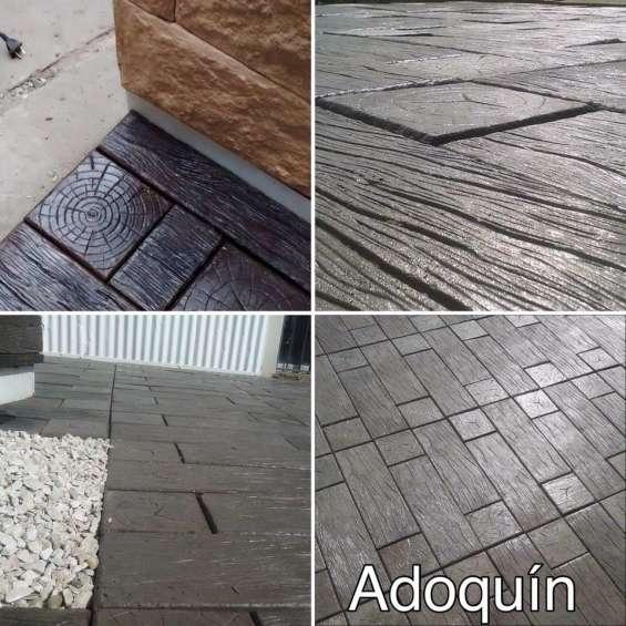 Simil madera adoquin madera