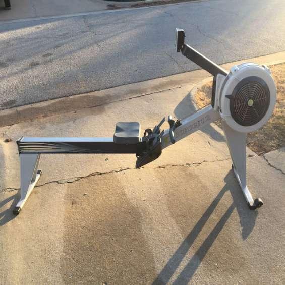 Concept2 modelo e rower interior com monitor mp5