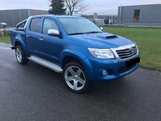 Toyota hilux 2012 azul gasolina