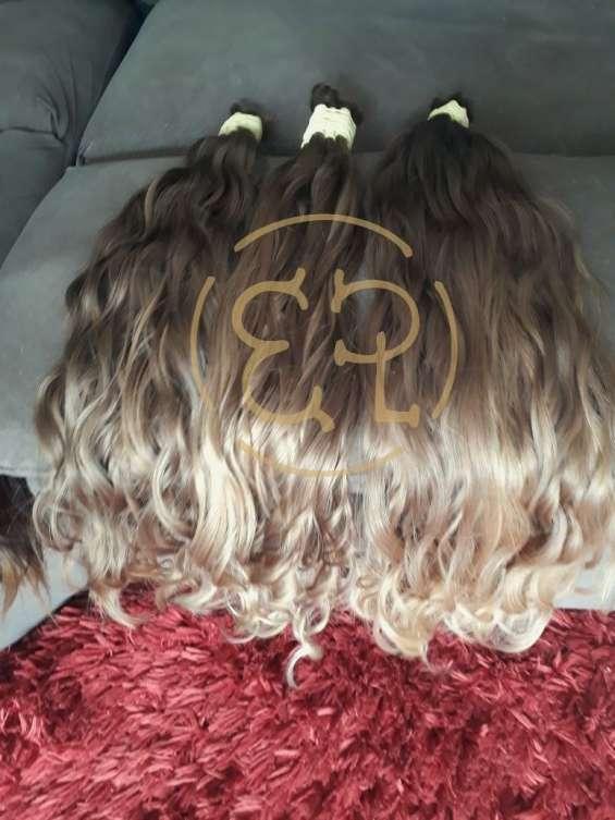 Vendemos cabelos,faixas naturais para seu mega hair