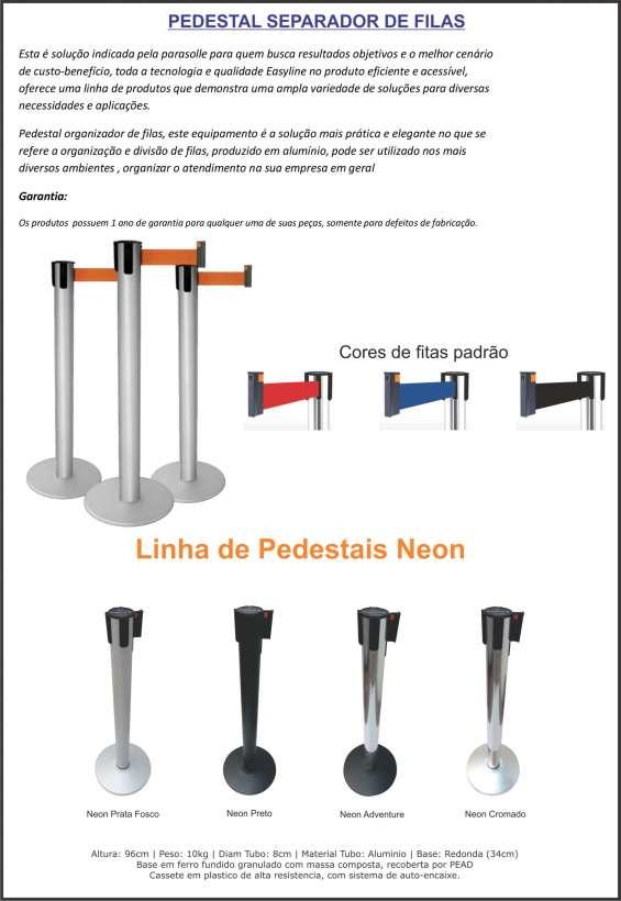 Pedestal de filas
