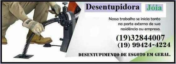 Desentupidora jóia - cosmópolis - sp - 19 99702-4947