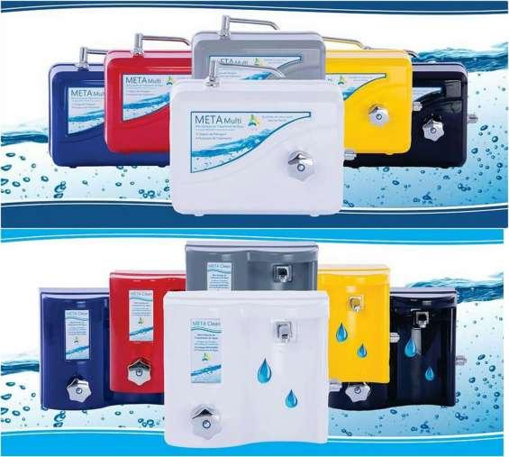 Purificadores meta (mini-estação de tratamento de água)