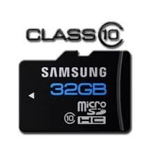 Cartão micro sd samsung 32gb class10