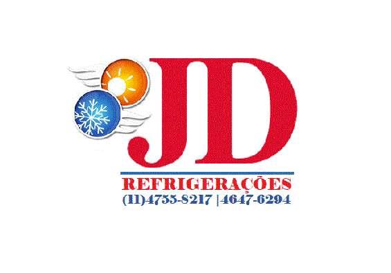 Jd refrigeração conserto de geladeira e máquina de lavar.