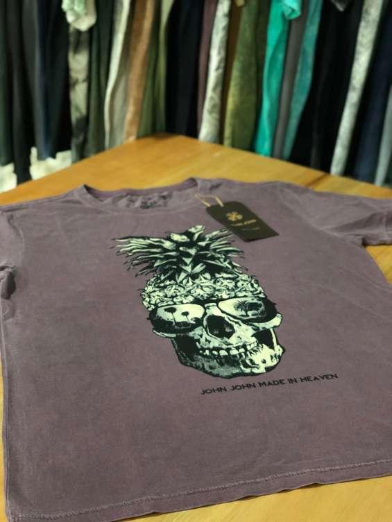 Fotos de Camisetas pre lavada 2