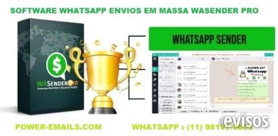 Envios em massa whatsapp marketing 2019