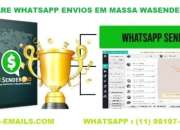 ENVIOS EM MASSA WHATSAPP MARKETING 2019
