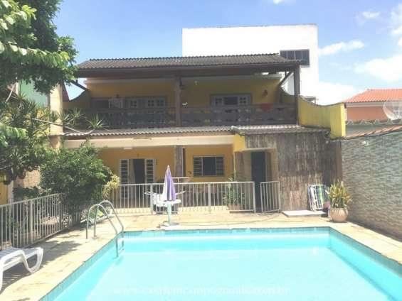 Campo grande - pina rangel - casa duplex 2 quartos/1 suíte - 220m2 - piscina/churras/quint