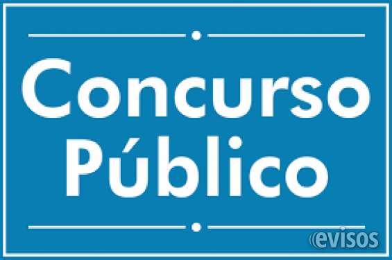 Concursos públicos pense na estabilidade!