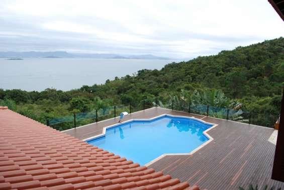 Mansão de luxo - com vista permanente do mar - ribeirão da ilha - floripa/sc