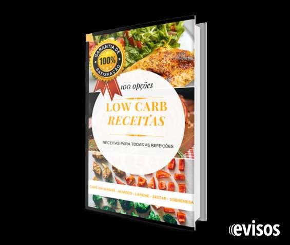 100 receitas low carb em e-book
