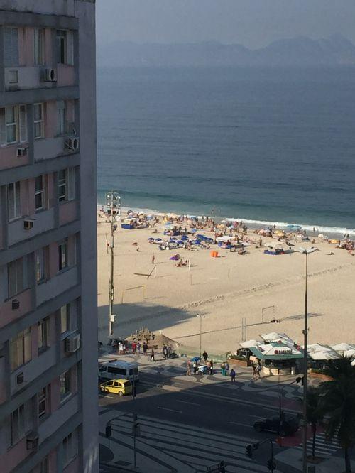 Cobertura triplex na rua bolívar e praia de copacabana, rio janeiro, brasil. imperdível.
