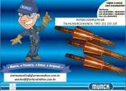 Anel de Borracha elástico escora para Talhas Munck 1141486658 J Fontana Talhas MF