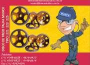 Disco de Freio completo com Lona para Talhas Elétricas Munck 1141486658 MF