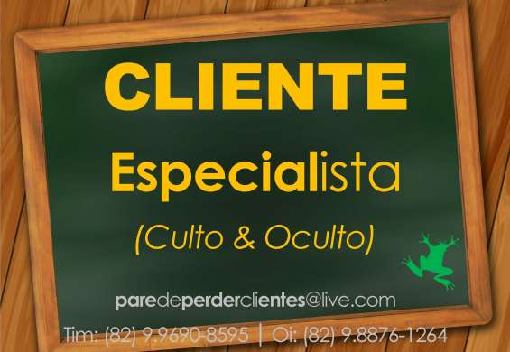 Cliente especialista (culto & oculto)