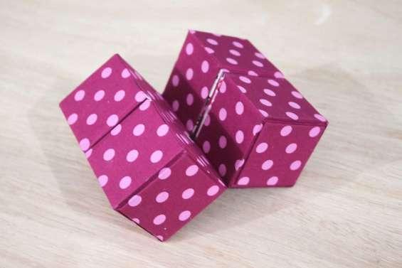 Fotos de Peças lindas e criativas aprenda a cartonagem fora da caixa 4