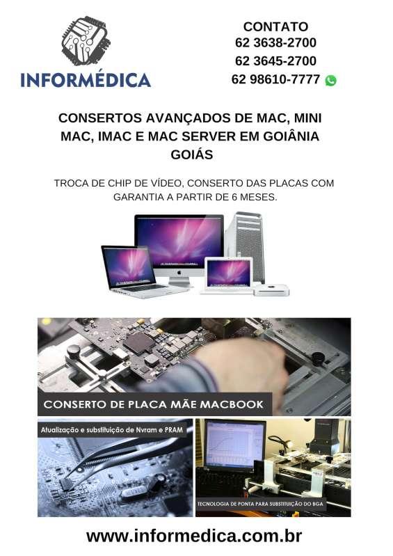 Placa mae macbook-imac-mac-server-goiania-goias