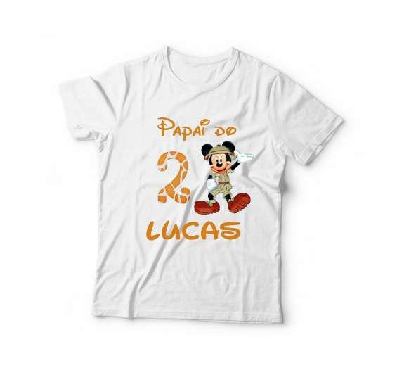 Camiseta personalizada tema safari