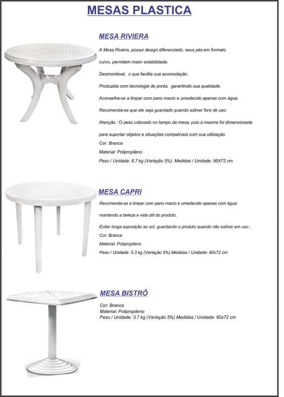 Cadeira e poltrona plástica