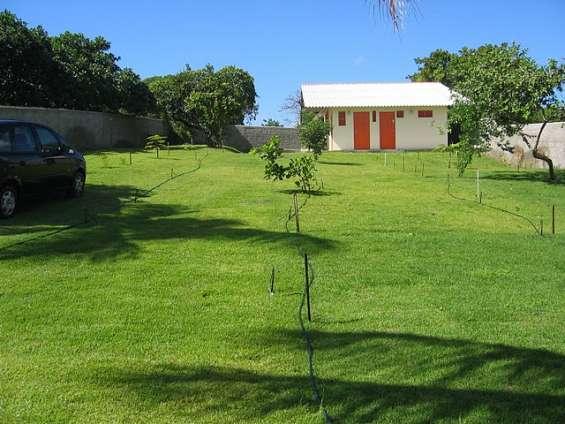 Chácara 1.000 m2 - com 150 m2 construido em pium - praia cotovelo - natal/rn