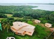 Casa Terr 3.500 m2 - 450 m2 área construida 2 stes, sala cinema - Lagoa em Guarairas