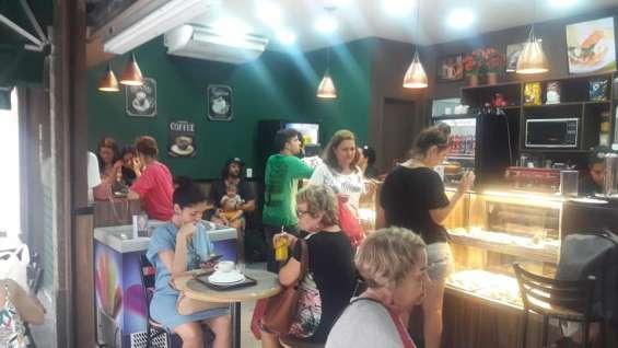 Interior da cafeteria cafe 110, centro, rj