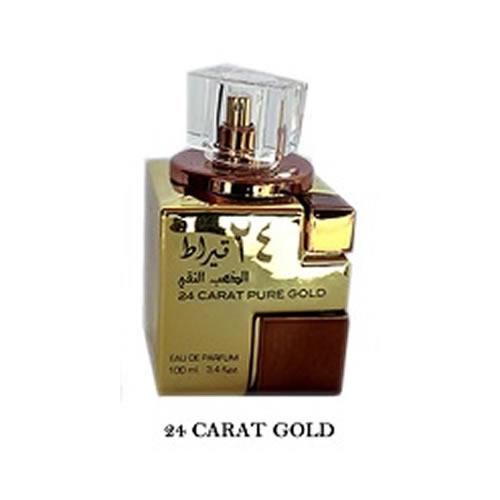 Perfumes importados árabes feminino 24 carat pure gold
