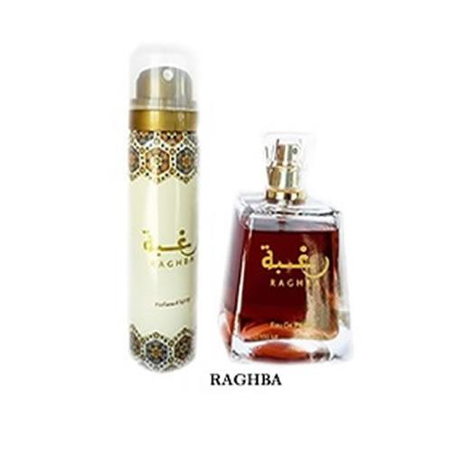 Perfumes importados árabes unissex raghba