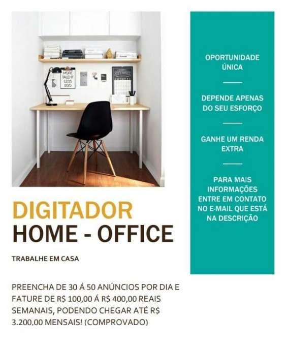 Trabalhe em casa como digitador online e ganhe ate r$60 por dia