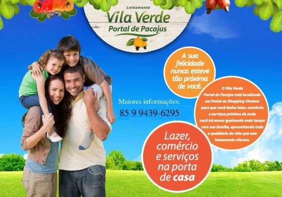 Loteamento vila verde portal de pacajus