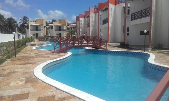 Casa oferta triplex 3/4 cond. fechado -praia de maracajaú - maxaranguape - rn